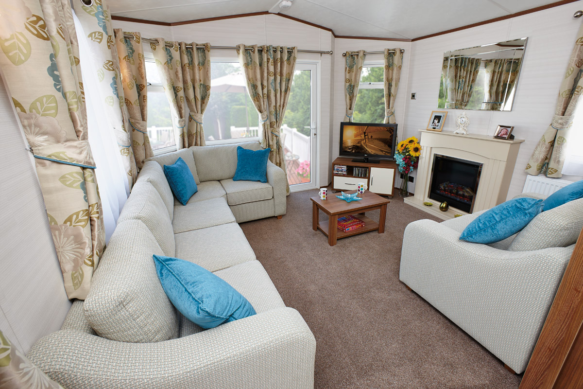 Carnaby finesse for sale on site dunmore east holiday for Mobilhome 3 chambres