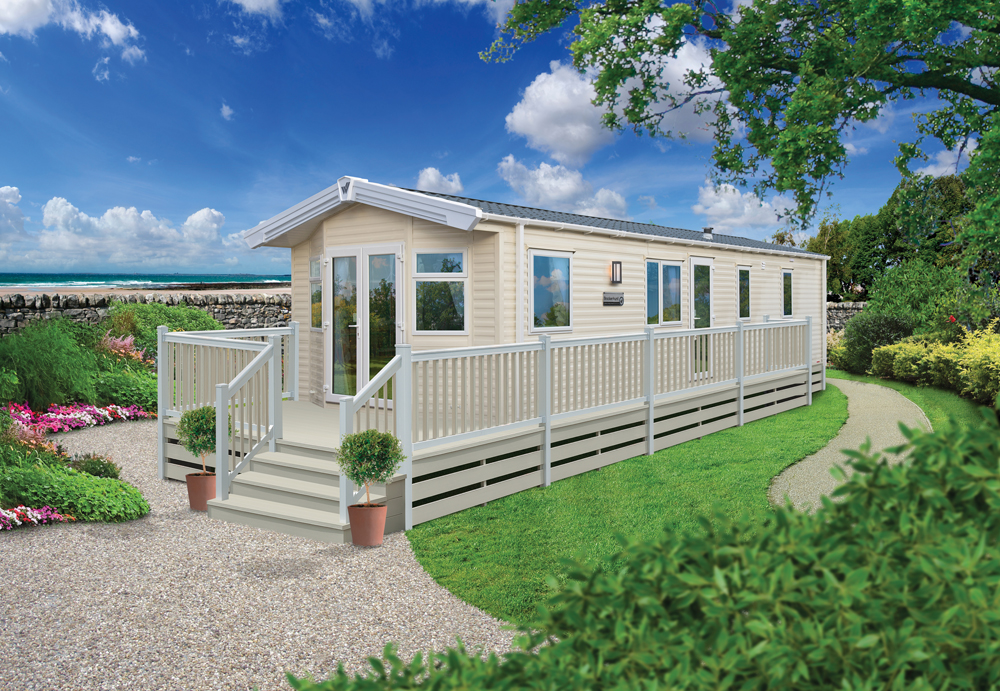 Willerby Brockenhurst with front doors